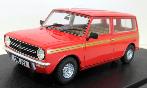 Cult 1/18 Scale Resin - CML018-1 Mini Clubman Estate HL Red