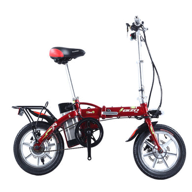[FREE SHIPPING!] NEW 2017 Electric Folding City Bike / 36v 8AH Electric / 250W Hub Motor - Affordable Cycling & Sports
