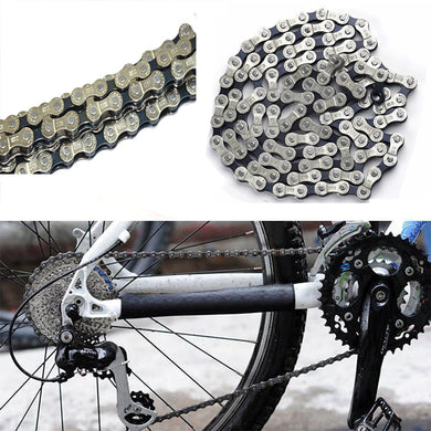 Bicycle Chain 6-7-8 Speed 116 Links For MTB Mountain Road Bike Steel Chain Bicycle Accessories wholesale #EW