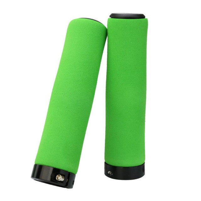 New MTB Road Cycling Skid-Proof Grips Anti-Skid Rubber Bicycle Grips Mountain Bike Lock On Bicycle Handlebars Grips #11