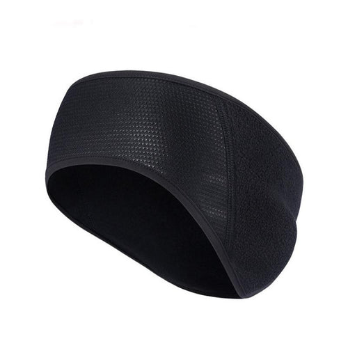 2017 Winter Cycling Headwear Windbreak Solid Color Black Warm Wind Ear Running Polyester Headwear #EQ