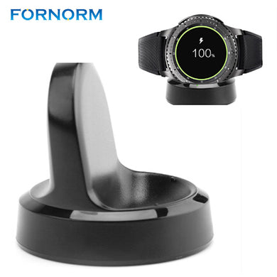 FORNORM Smart watch Magnetic Charger Wireless Charging Dock Cradle Charger For Samsung Gear S3 Smart Watch Charging Dock