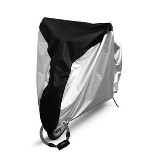 Weather Proof Bike Cover Outdoor Dustproof Bicycle Cover with Lockhole for Mountain/Road Bike - Size XL
