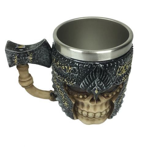 Battle axe Skull  Viking Mug