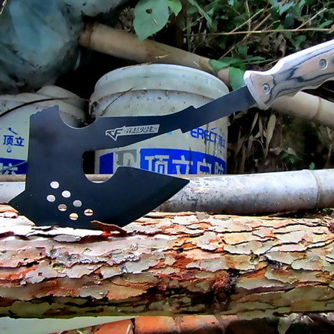 Portable Camping Axe Black