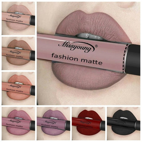 Beauty Matte Liquid Lip Gloss Waterproof