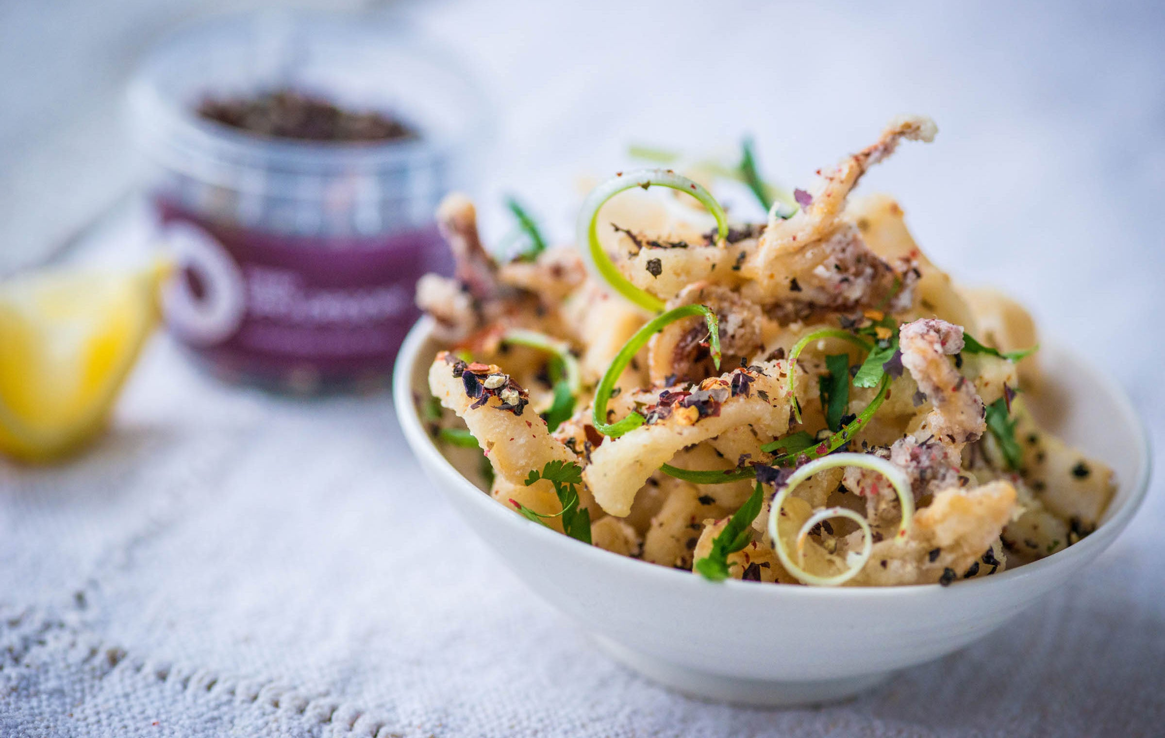 recipe: char grilled calamari salad [20]