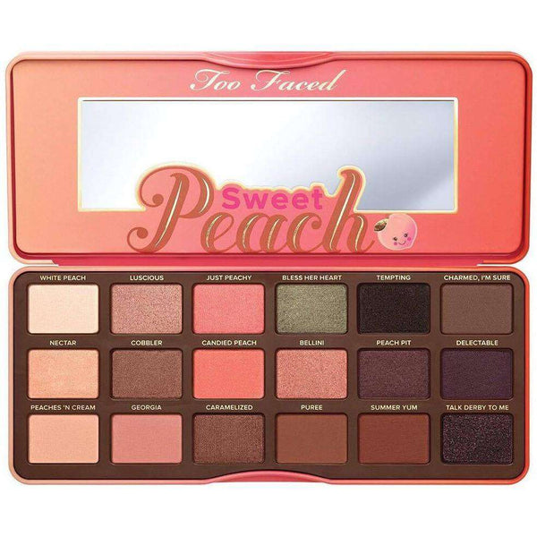 Too Faced Sweet Peach Palette Гримове Козметика Rouge