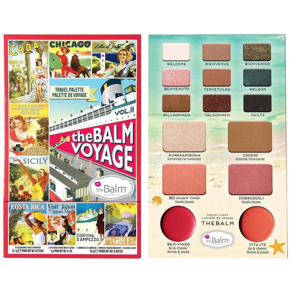 The Balm Voyage Pallete