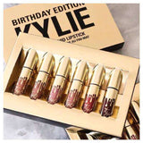 Kylie Birthday Edition Lipstick Collection Гримове козметика Rouge