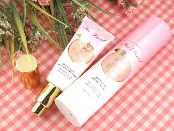 Too Faced Primed & Peachy Cooling Matte Perfecting Primer основа Rouge
