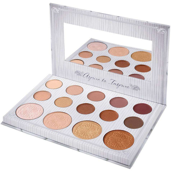 Carli Bybel 12 Eyeshadow + Highlighter Palette