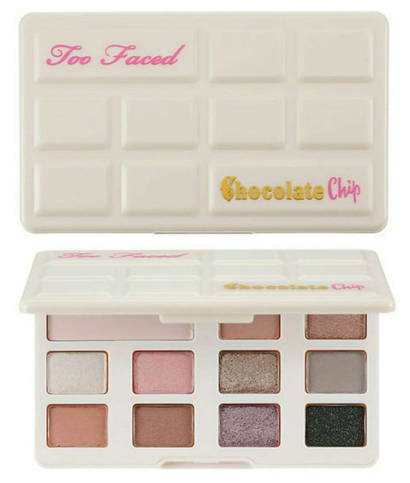 Too Faced Chocolate Chip Palette Matte White