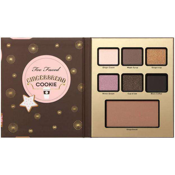 Too Faced Gingerbread Cookie Palette гримове палитри Rouge