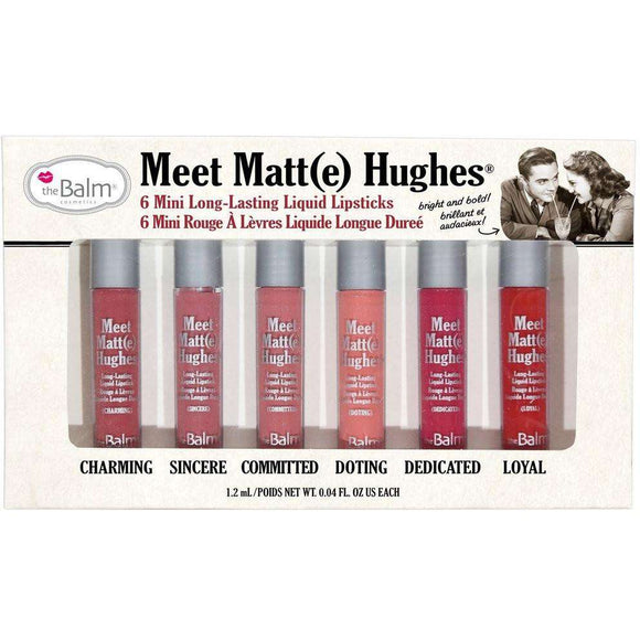 The Balm Meet Matt(e) Hughes /6 mini-lipsticks/