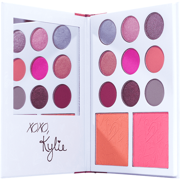 Kylie's Diary Palette гримове сенки Rouge