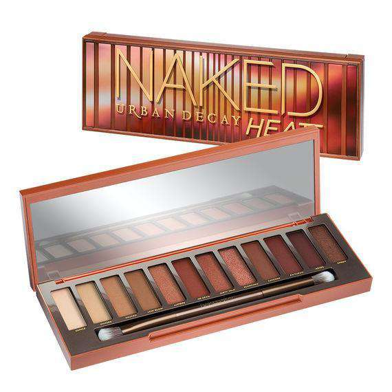 Urban Decay Naked Heat сенки гримове Rouge