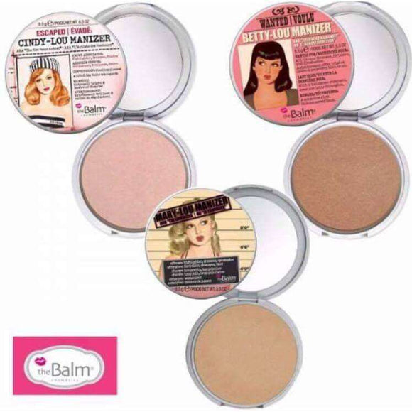 The Balm Mary-Lou, Betty-Lou, Cindy-Lou бронзант хайлатър ܺRouge