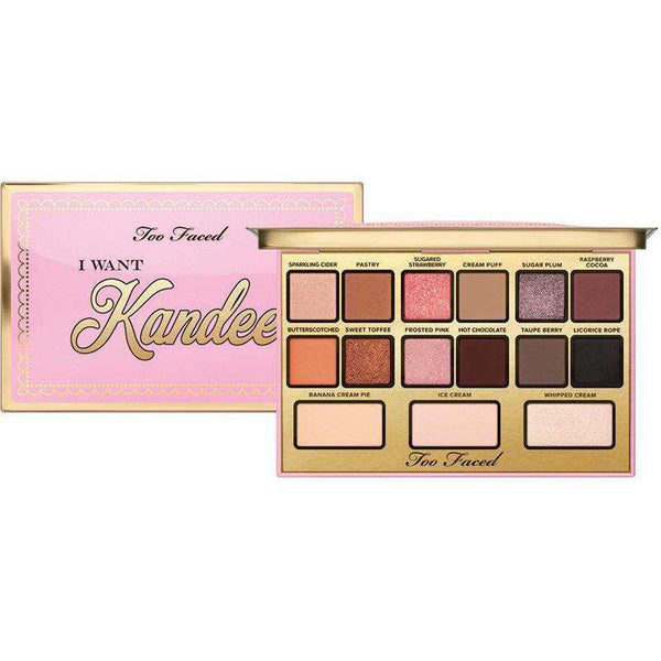 Too Faced I Want Kandee Candy Eyes Palette гримове сенки Rouge online