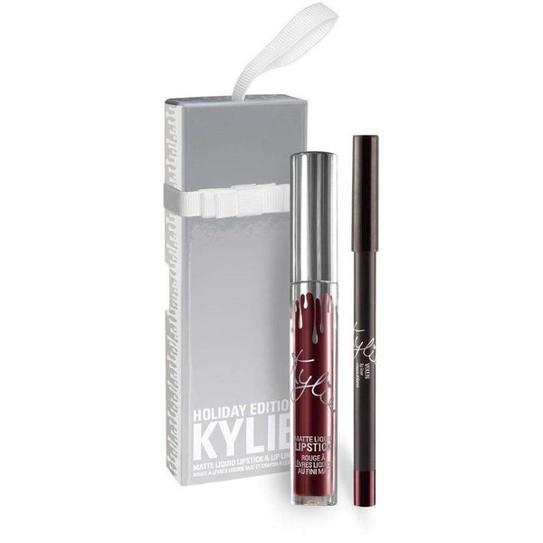 Kylie Holiday Edition Lipstick and Lip Liner Kit
