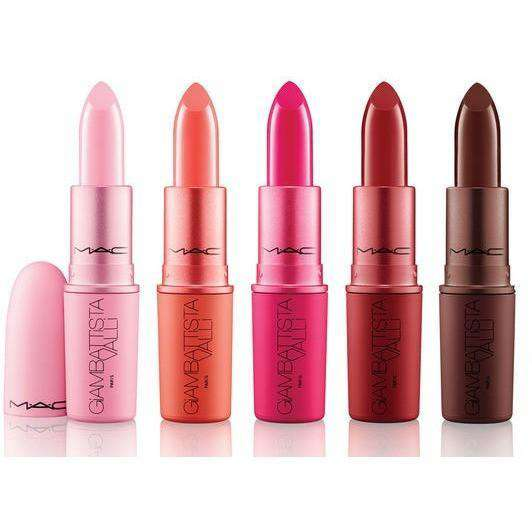 Mac Giambattista Valli Lipstick Collection