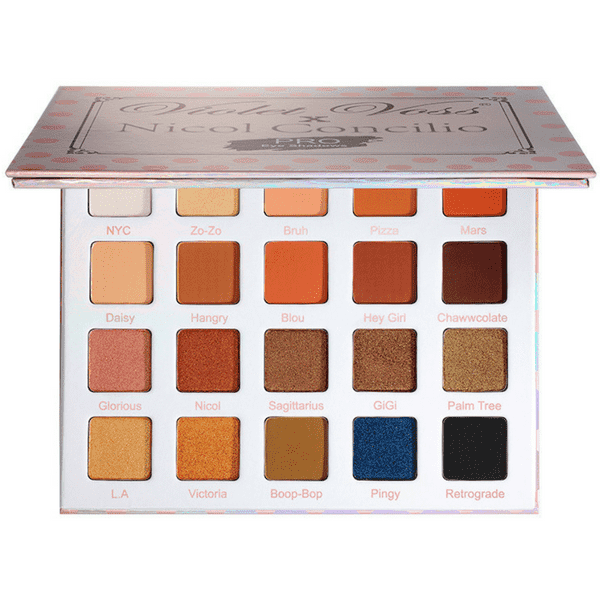 Violet Voss Nicol Concilio's Eye Shadow Palette сенки гримове Rouge