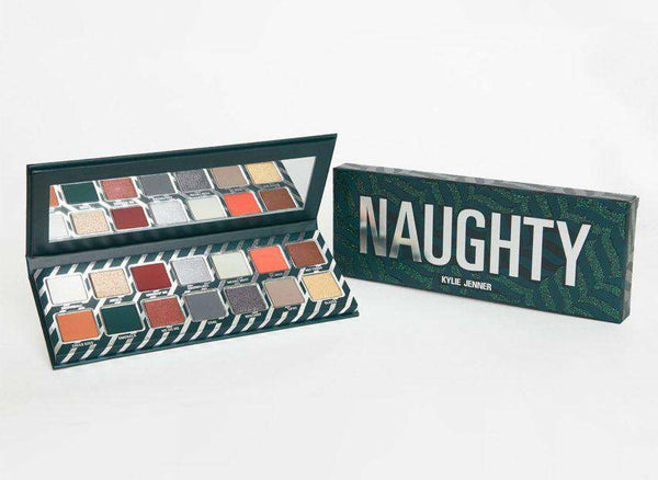 Kylie Holiday Naughty Eyeshadow Palette сенки гримове палитри Rouge