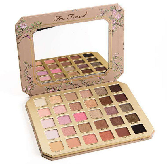 Too Faced Natural Love Palette гримове сенки Rouge