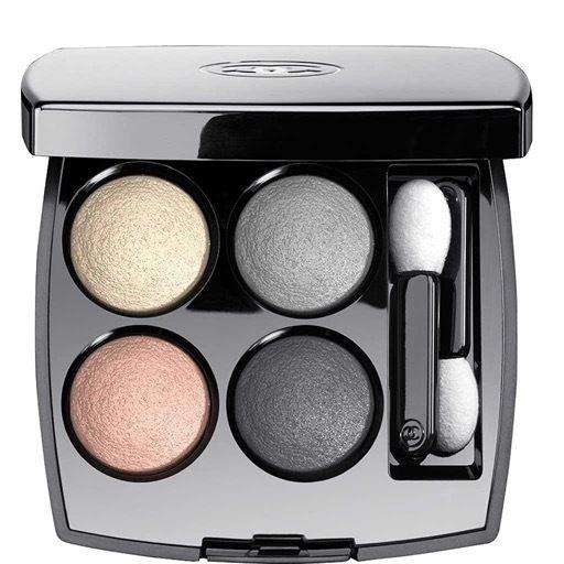 Chanel LES 4 OMBRES Multi-Effect Quadra Eyeshadow сенки гримове Rouge