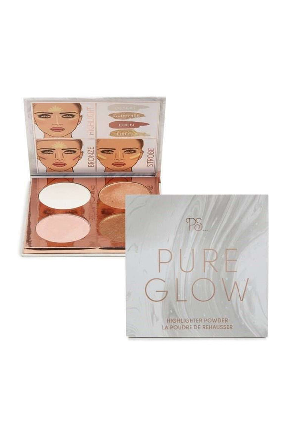 PS Make Up Pure Glow Highlighting Palette гримове хайлайтъри Rouge