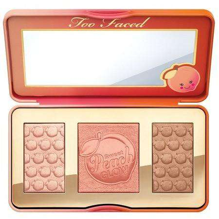Too Faced Sweet Peach Glow гримове хайлатър Rouge