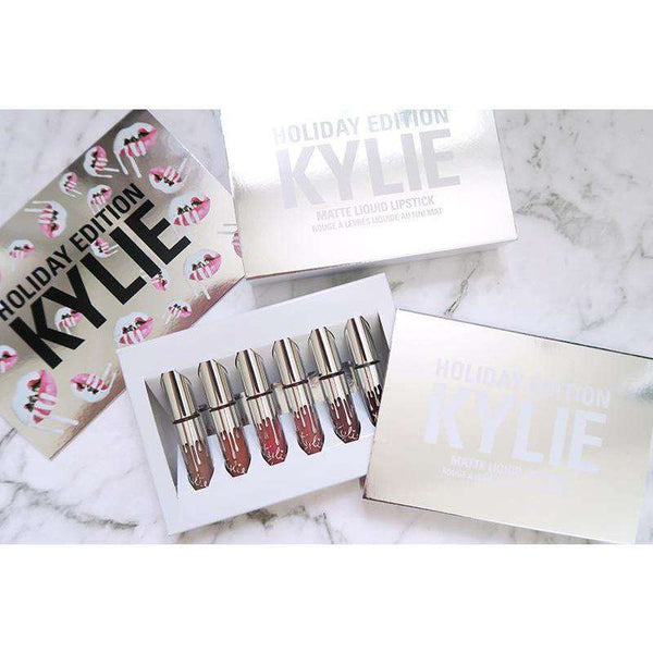 Kylie Holiday Edition Matte Liquid Lipstick Kit