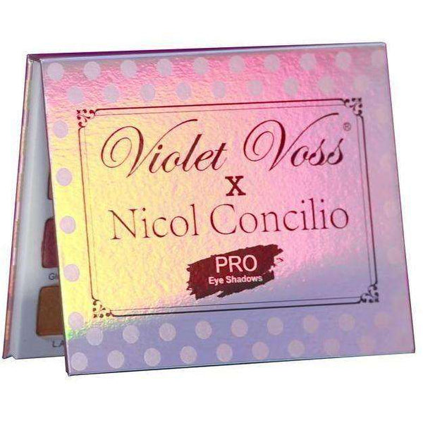 iolet Voss x Nicol Concilo's Eye Shadow Palette гримове сенки Rouge