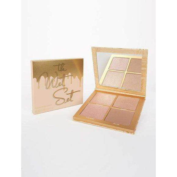 The Wet Set Pressed Powder Kylighter гримове хайлатъри Rouge