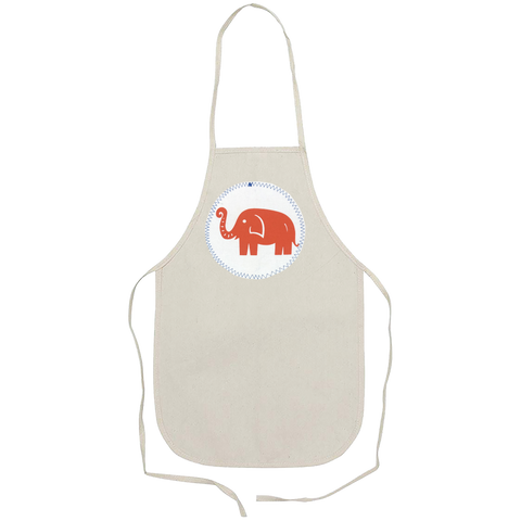 kid apron - elephant