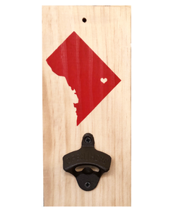 DC Map Bottle opener