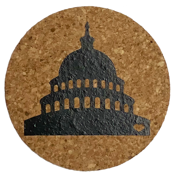 coaster set - DC Love
