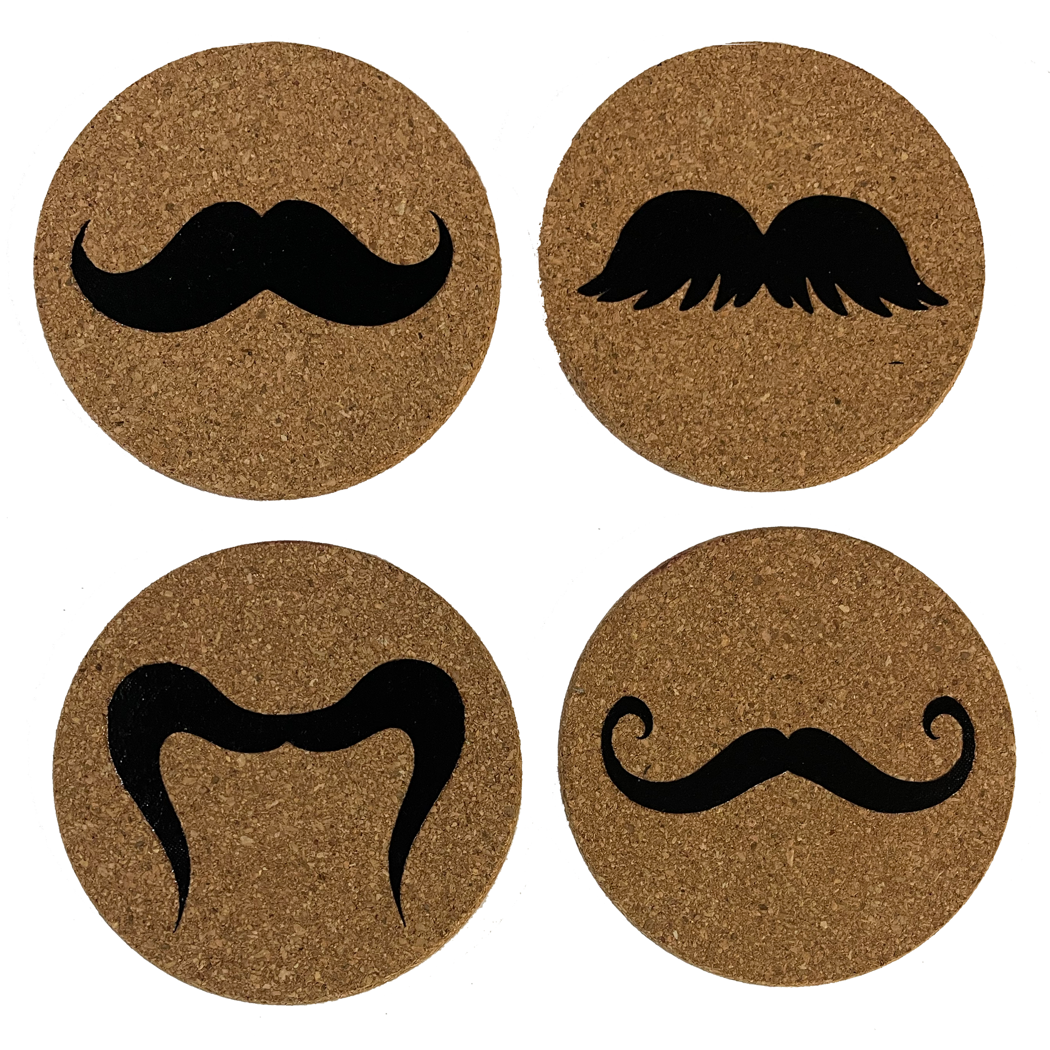 Copy of coaster set - Mustaches