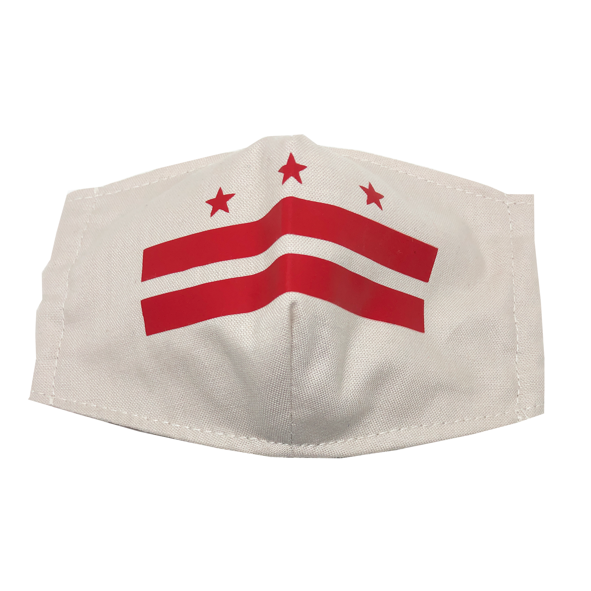 adult fitted masks - classic DC flag
