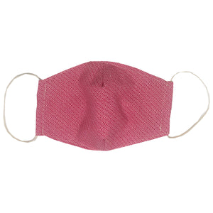 adult fitted masks - pink print