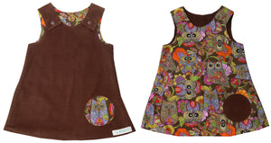 reversible - brown/ big owl (2)