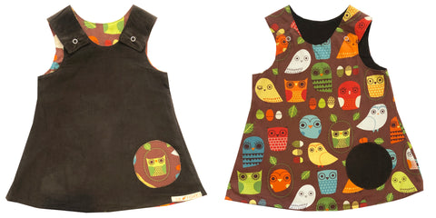 reversible - brown/ owl (2)