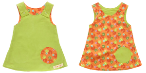 reversible - green/ lotus (2)