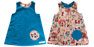 reversible - blue/ red ridinghood