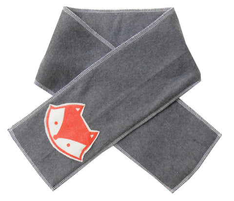 kid scarf - fox dark
