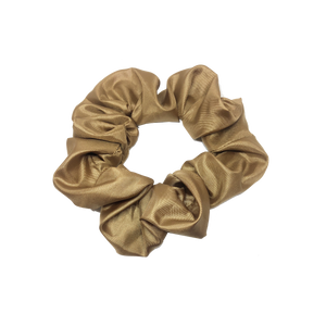mini scrunchie - satin gold