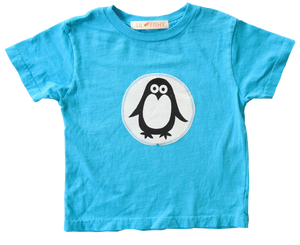 tees - ss - penguin blue
