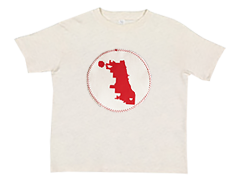 tees -ss - chicago map