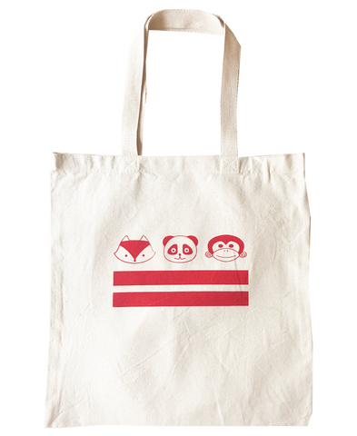 tote bags - DC flag