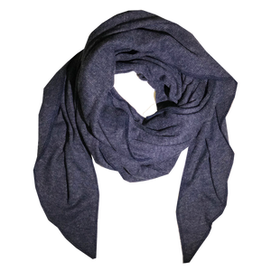 blanket - navy blue